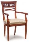 Stuhl mit Lehnen P-100/RO
